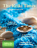 Cover of the Reiki Times Magazine